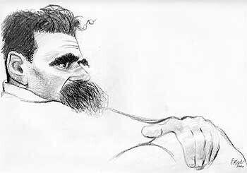 Il 25 agosto 1900 muore Friedrich Nietzsche. Anche se è tra le sue più famose è sempre profondamente d'effetto rileggerla:   «Gott ist tot! Gott bleibt tot! Und wir haben ihn getötet!» «Dio è morto! Dio resta morto! E noi lo abbiamo ucciso! »  Illustrazione di #TullioPericoli #friedrichnietzsche #filosofo #filologo #compositore #poeta #tedesco #filosofia #filología #ricordi #citazioni #stima #rispetta #cultura #accadeoggi #arsenalepiu