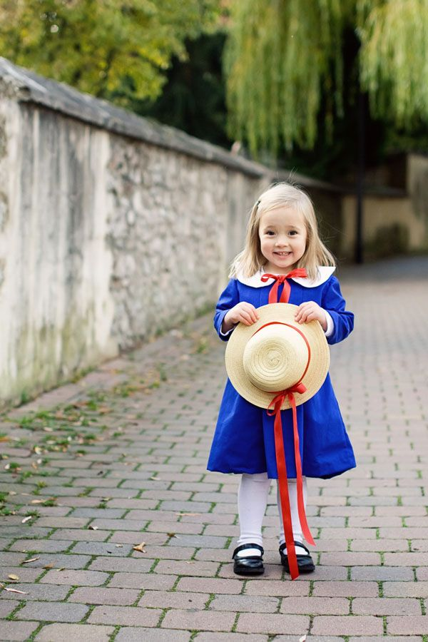 Madeline Costume for Halloween - this is a freaking dorable...