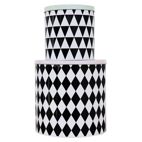 Geometry tin box 2-pack Ferm Living