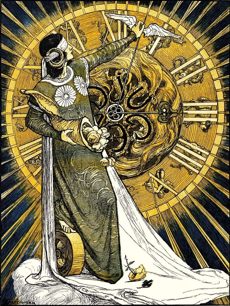 Gräfin Otolia (Olga) Kraszewska, Jugend Magazine (Cover art), Germany, 1900.