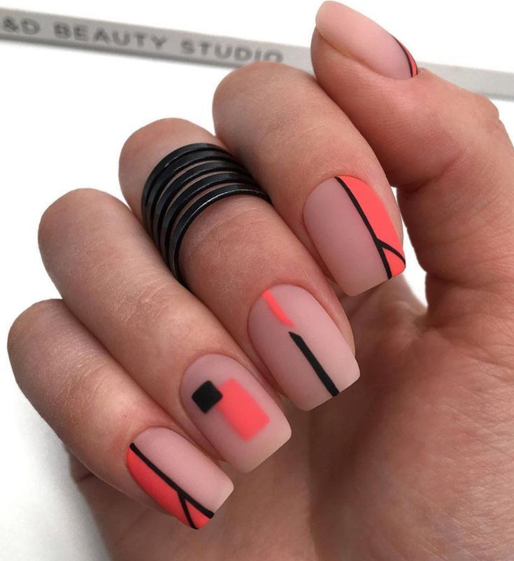 87 Cute Short Acrylic Square Nails Ideas For Summer Nails –