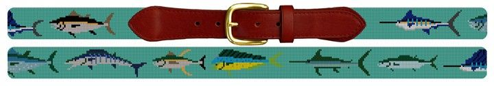 Tropical Gamefish #NeedlepointBelt