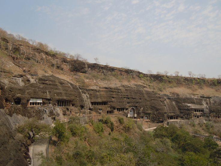 DSCN8172 Ajanta Caves in Aurangabad   by vesnautjesinovic