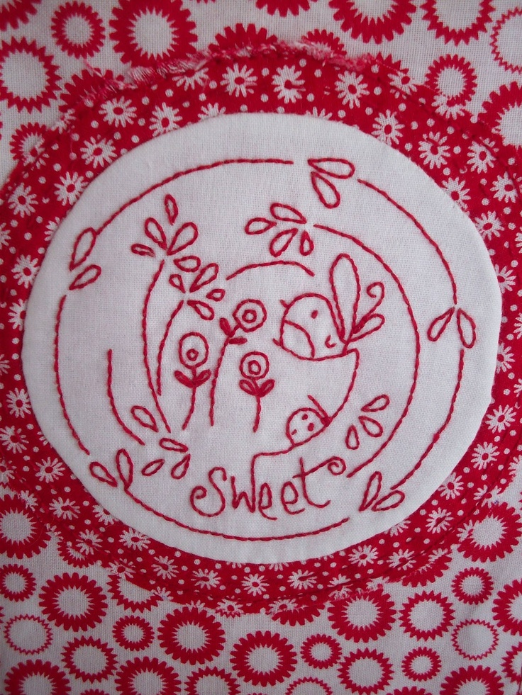 Best red and white pictures embroidery or could be used