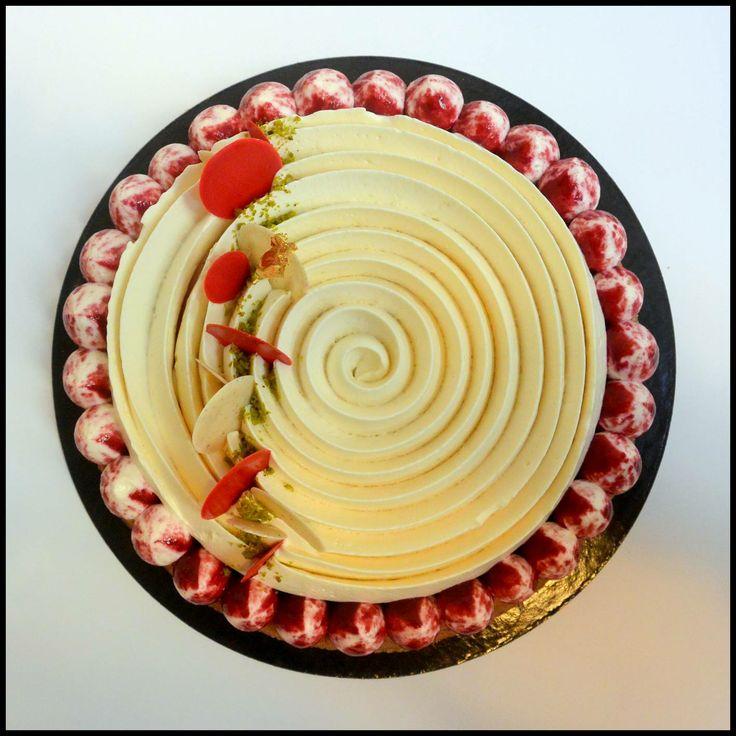 fantastik cheesecake griotte pastry art pinterest. Black Bedroom Furniture Sets. Home Design Ideas