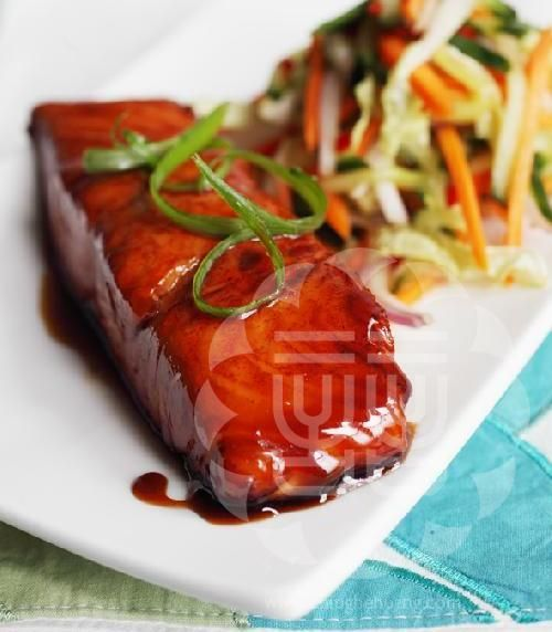 Chef Ching-He Huang's Salmon Teriyaki
