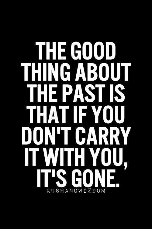 The past is gone lyrics
