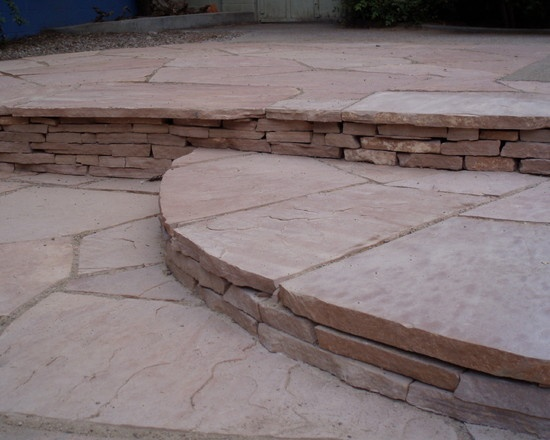 Flagstone steps- Waterwise Landscapes Incorporated