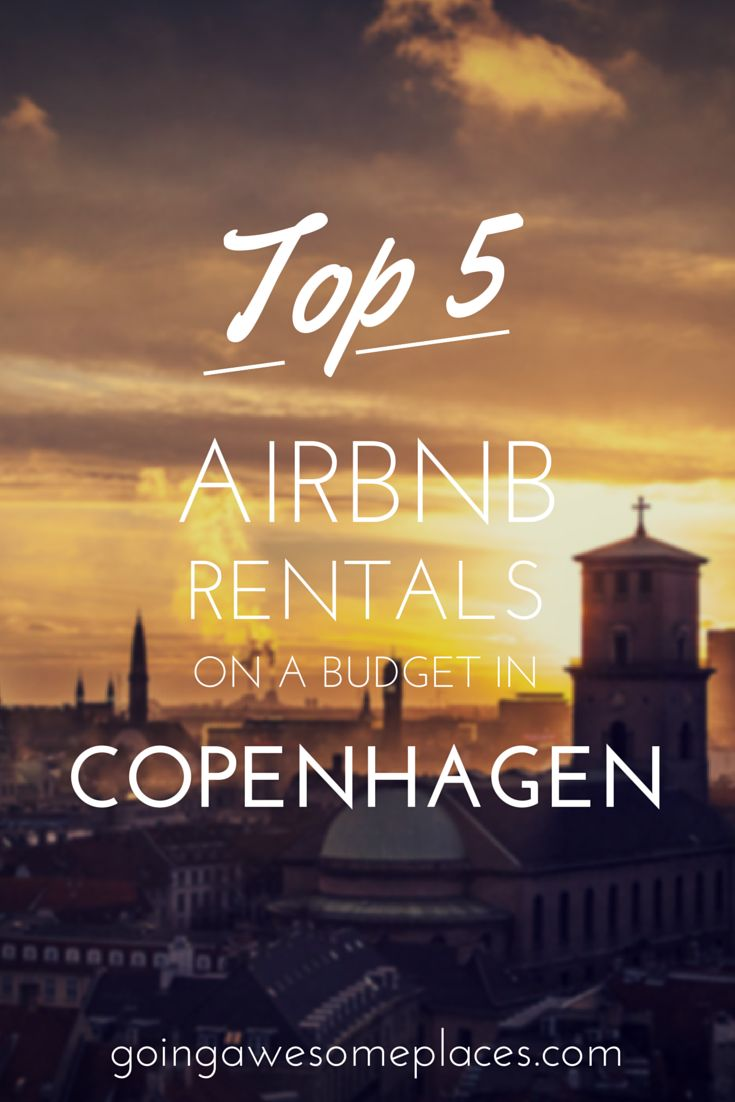 Looking for budget accommodations in Copenhagen, Denmark?  These are the top 5 Airbnb rentals that you'll find in the city that won't break the bank and are conveniently located.