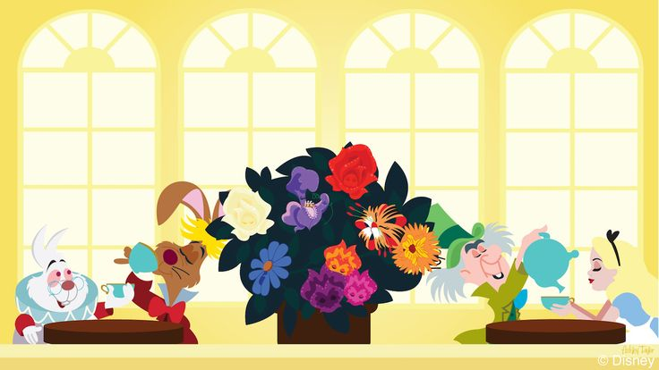 In this week's Disney Doodle, artist Ashley Taylor imagines what Alice and her…