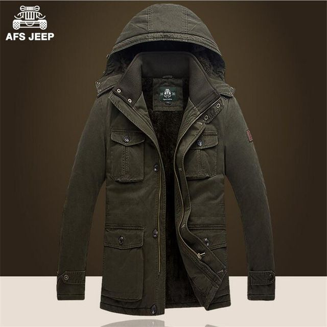 AFS JEEP 5xl/6xl/7xl Plus Size Man's Winter Coat,Cashmere Inside Good Quality Outdoor Thickness Long Jacket,Cargo Slim Coats US $64.60 /piece  CLICK LINK TO BUY THE PRODUCT  http://goo.gl/oYWEYs
