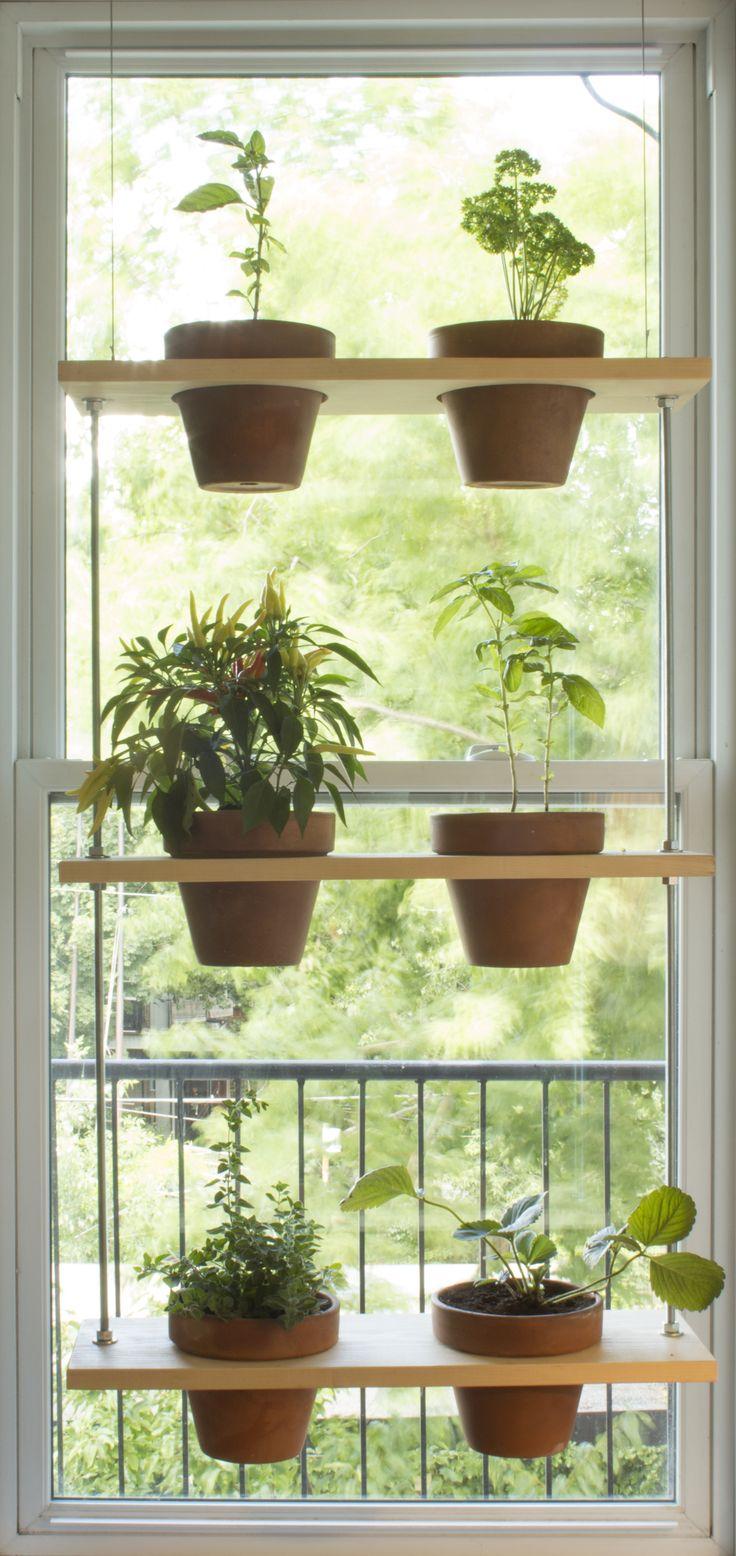 Tête de courge - Si vous manquez de temps pour un DIY, Tête de courge peut vous aider à obtenir des structures de bois où y déposer vos plantes à l'extérieur et à l'intérieur. C'est la touche parfaite pour un décor chaleureux!