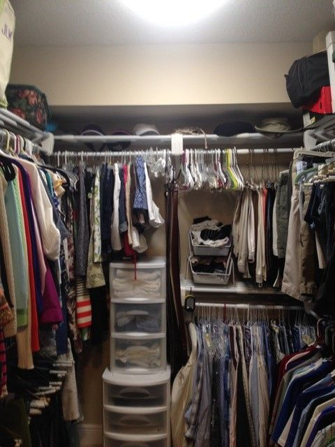 Charmant Jennyu0027s Closet. Combining Double Hanging From EZ SHELF With Cheap Makes An  Affordable Walk