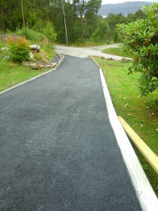 #Oppkjørsel #asfalt