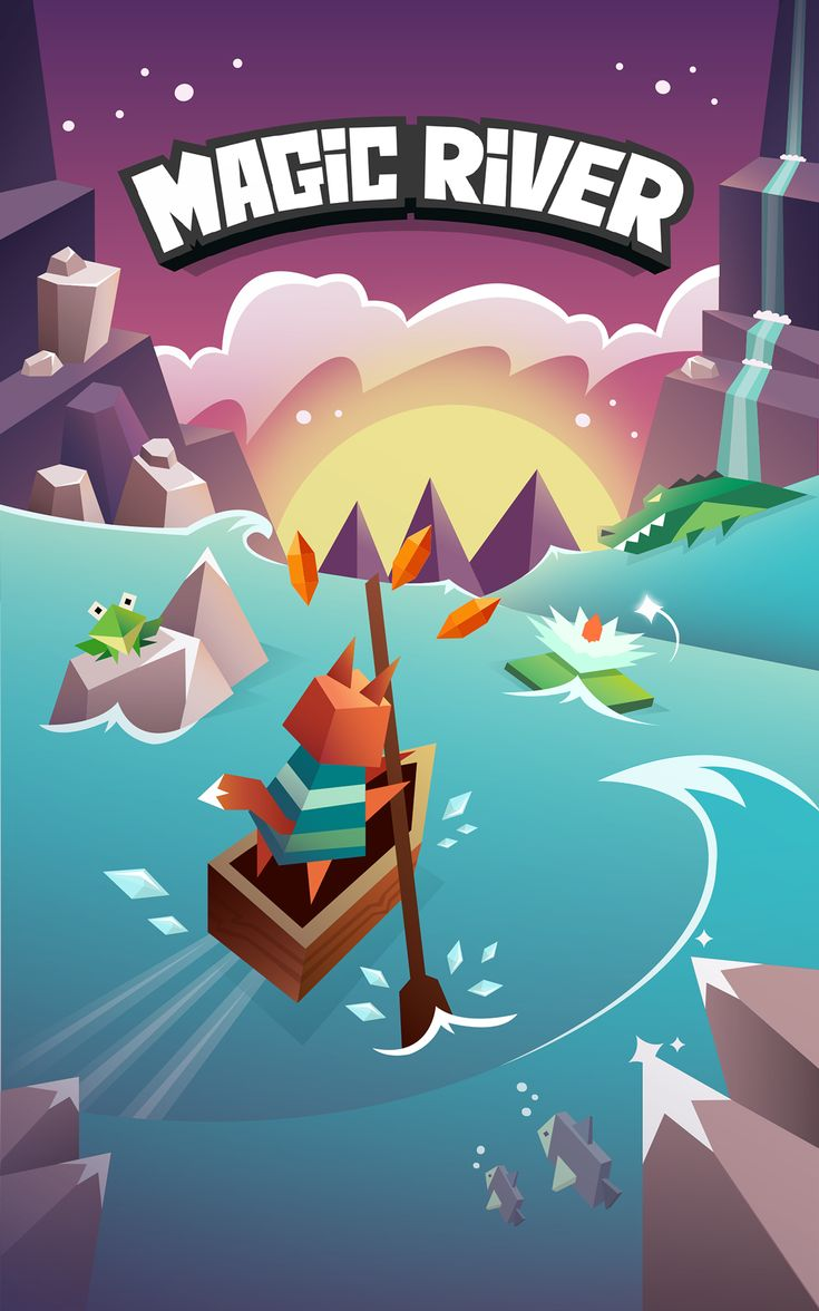 New game for ios and AndroidiOS: https://itunes.apple.com/app/magic-river/id1003415673Android: https://play.google.com/store/apps/details?id=com.ketchapp.magicriver