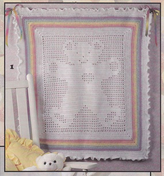 Free Teddy Bear Filet Crochet Afghan Pattern : 1000+ images about Mom Taught Me To Love Yarn... on ...