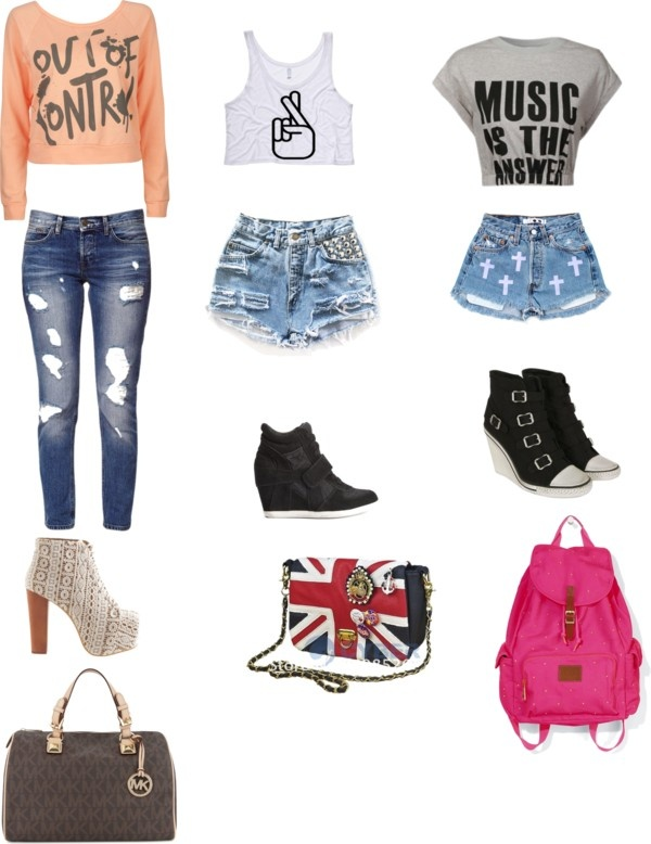quot pretty swag quot by tawana be liked on polyvore ropa
