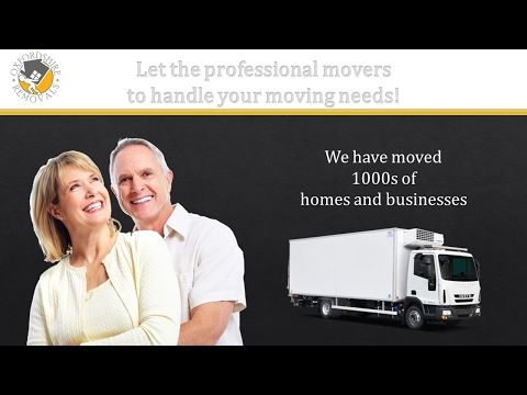 Moving Company Oxford - YouTube