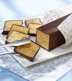 Grillkuchen (Schichtkuchen, Baumkuchen) - Ein beliebter Kuchen mit Rum und einem Schokoladenguss