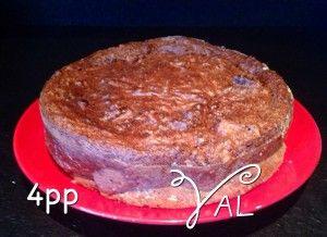 Gâteau chocolat courgette noix de coco