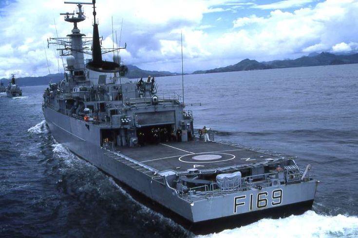 HMS Amazon F169 - ShipSpotting.com - Ship Photos and Ship Tracker
