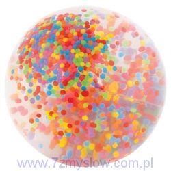 Piłka z koralikami - 10 cm.