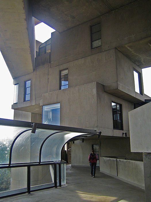 habitat 67 by Moshe Safdie - Montreal