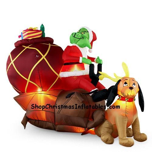 Grinch Inflatible Christmas Inflatables Inflatable