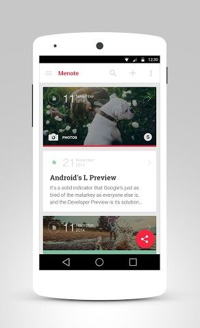 Menote - Notes, Diary Review | Android App | Playboard