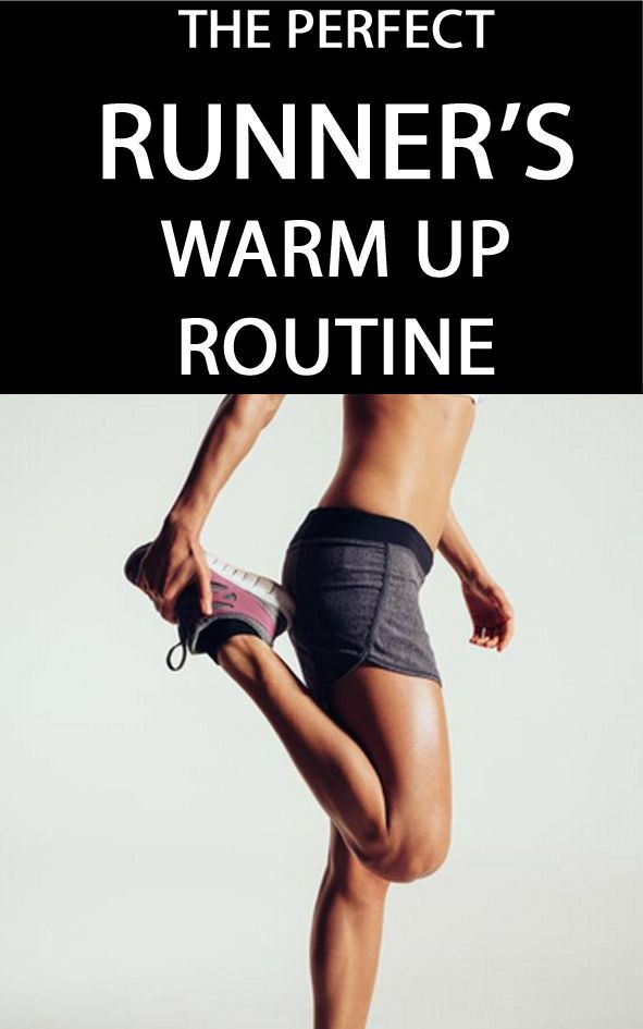 THE PERFECT RUNNER'S WARM UP ROUTINE: If you want to perform to the best of your ability right from the start of a run, it's vital that your pre-run warm up is right...