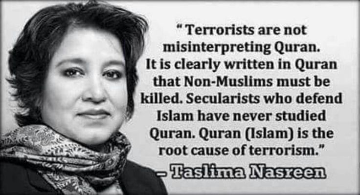 She is soooo right! ISIS is doing exactly what the Quran says!