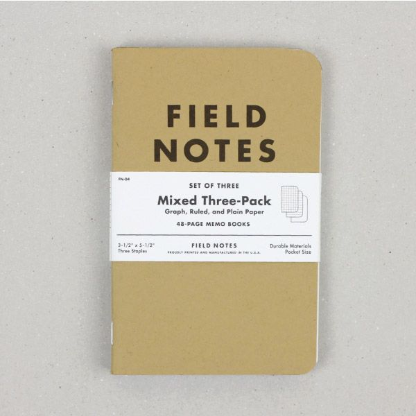 FIELD NOTES フィールドノート|Mixed 3pack