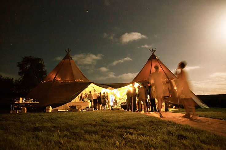TopKata Teepee Tents | Exterior Image Gallery | Tents for Events NZ