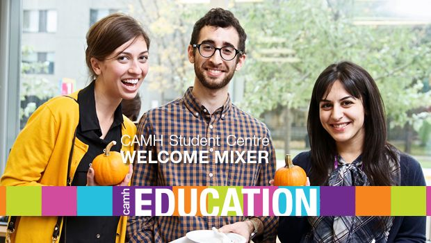 The new CAMH Student Centre held its first event on Wednesday October 8th, welcoming students/residents from all disciplines across CAMH.