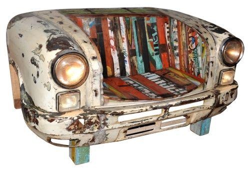 Bank aus Autofront – Woody Möbel