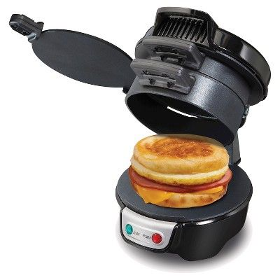 Hamilton Beach Breakfast Sandwich Maker - Black 25477