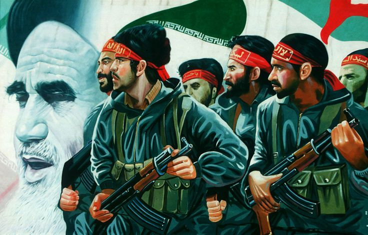 Ayatollah Ruhollah Khomeini and Iranian National Guards, Iran-Iraq War