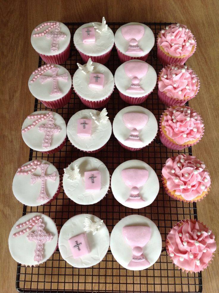 Holy Communion Cupcakes By Www Jojocupcakes Co Uk Holy