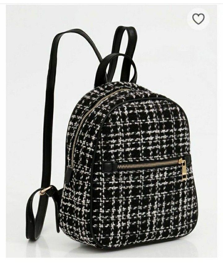 Ikea knalla sac à dos en noir//blanc; 28l