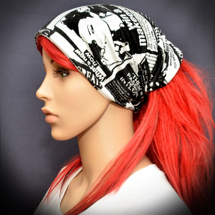 how to make a head bandana