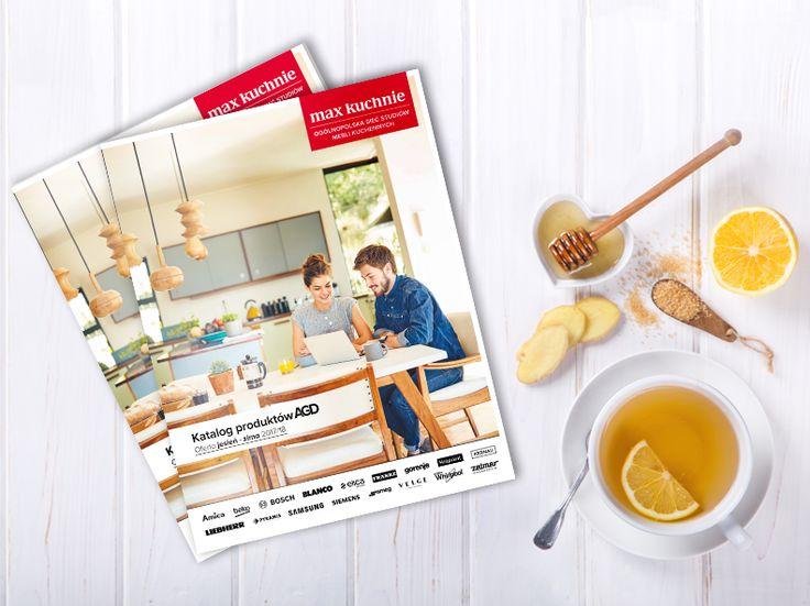Do kalendarzowej jesieni wprawdzie jeszcze trochę czasu, ale pogoda za oknem coraz mniej kojarzy się z latem...☔🌧🌥  Na poprawę humoru w chłodne jesienne wieczory polecamy filiżankę gorącej herbaty ☕ i najnowszy katalog handlowy Max Kuchnie, a w nim mnóstwo inspiracji związanych z produktami AGD :)
