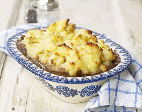 Jamie Oliver's Mash-Topped Beef & Guinness Pie
