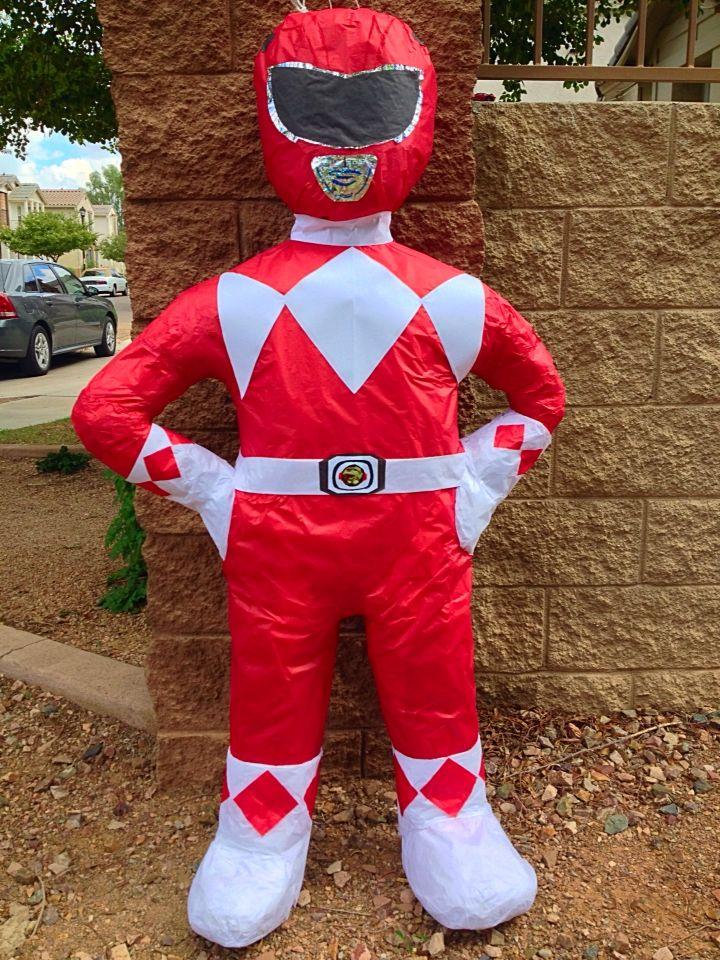 Power Ranger Piñata. Custom Piñatas.
