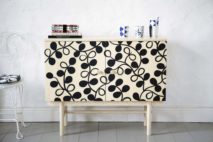 Cabinet with pattern Treviso. www.tiogruppen.com
