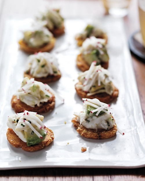 Crab Salad with Avocado and Tostones - Martha Stewart Recipes