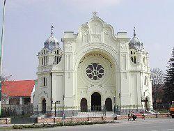 Synagogue, Hódmezõvásárhely, Hungary.