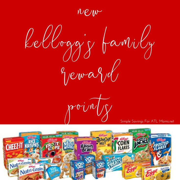 Add 100 New Kelloggs Family Reward Points! http://simplesavingsforatlmoms.net/2017/09/add-100-new-kelloggs-family-reward-points-5.html #kfr