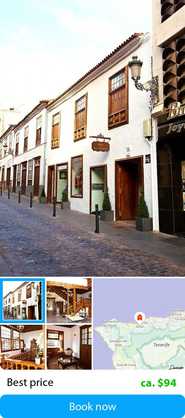 Emblematico San Agustin (Icod de los Vinos, Spain) – Book this hotel at the cheapest price on sefibo.