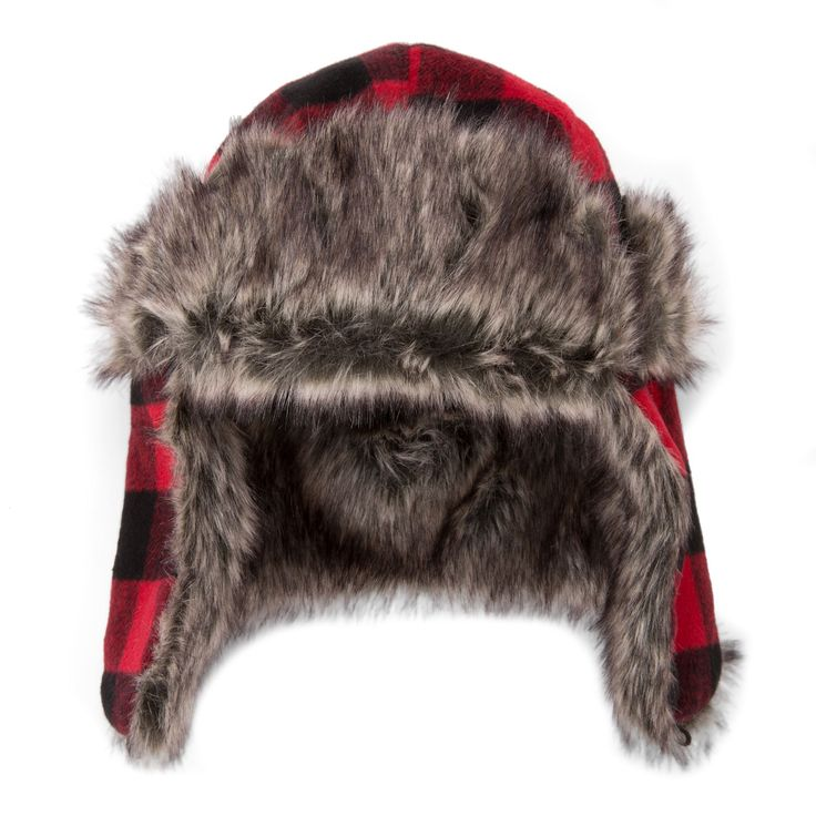 No need to back down from the cold temperature, as you can stay toasty this winter with this stylish trapper hat that goes good with any look.