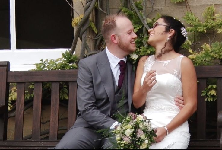 Congratulations to Laura & Antony on their big day at Wortley Hall. We had to share this adorable still from your #weddingfilm We hope you had the best day and we wish you all the best from the team at Dave Spink Photography! To watch the video go here https://vimeo.com/189216389